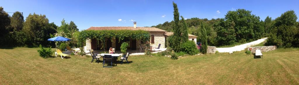 Ferienhaus an der Ardèche in Labastide-de-Virac für 4 Personen mit großem Garten