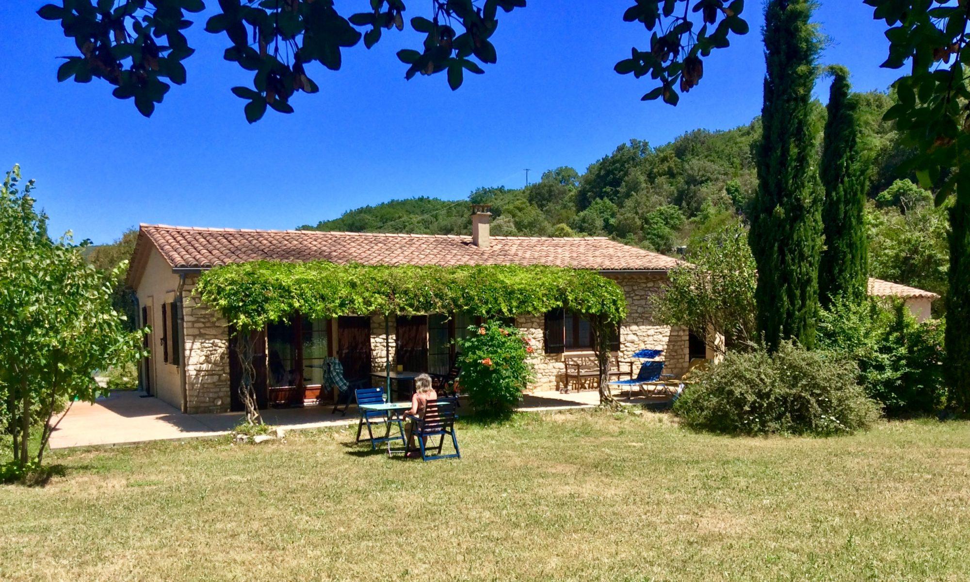 Ferienhaus an der Ardèche