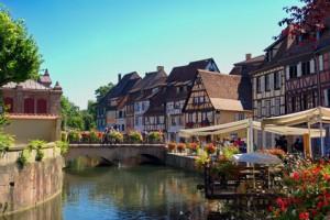 Klein-Venedig: Colmar , Elsass, Frankreich