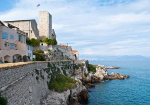 Das Picasso-Museum in Antibes